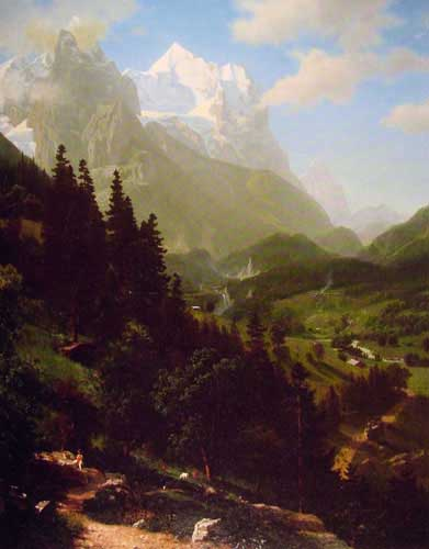 2464 Albert Bierstadt Paintings oil paintings for sale
