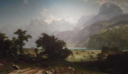 2465 Albert Bierstadt Paintings oil paintings for sale