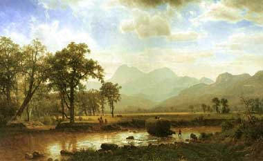 2472 Albert Bierstadt Paintings oil paintings for sale