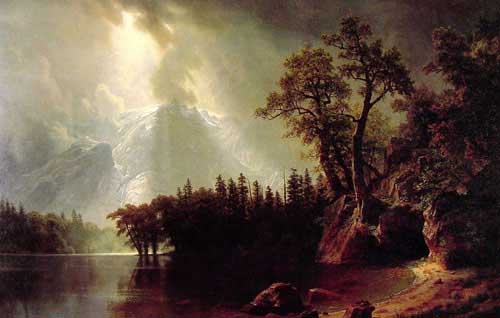 2477 Albert Bierstadt Paintings oil paintings for sale