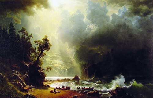 2478 Albert Bierstadt Paintings oil paintings for sale