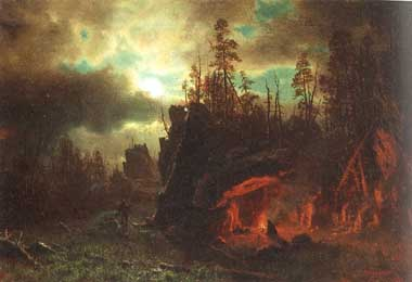 2483 Albert Bierstadt Paintings oil paintings for sale