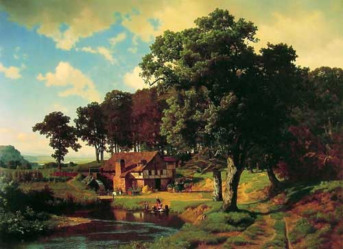 2485 Albert Bierstadt Paintings oil paintings for sale