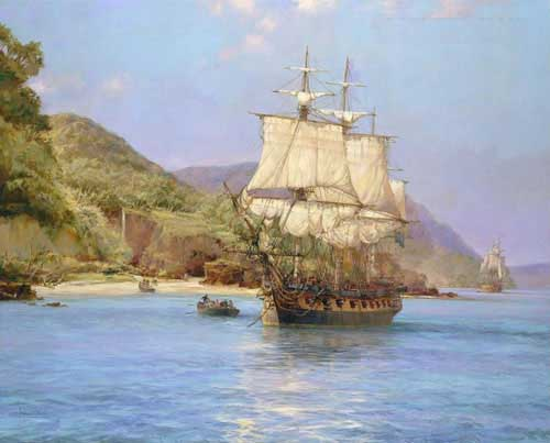 2829 Montague dawson paintings oil paintings for sale