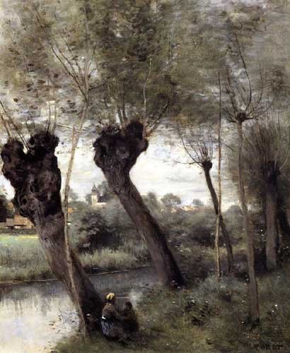 2928 Jean Baptiste Camille Corot Paintings oil paintings for sale
