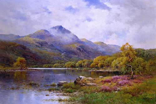 Oil Paintings Production:Alfred de Breanski, Jr.: The Trossachs, Ben Venue and Loch Achray