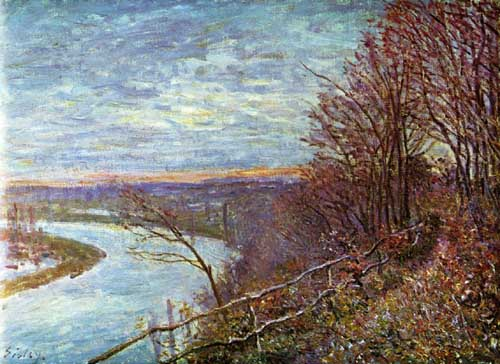 Painting Code#40349-Sisley, Alfred -  Le Loing