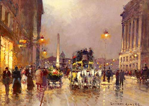 40356 Edouard Leon Cortes Paintings oil paintings for sale