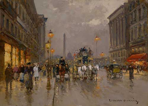 40369 Edouard Leon Cortes Paintings oil paintings for sale