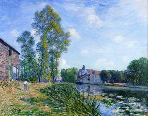 40474 Alfred Sisley Paintings oil paintings for sale