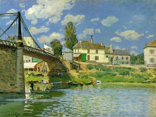 40577 Alfred Sisley Paintings oil paintings for sale
