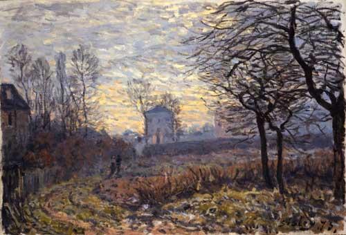 40580 Alfred Sisley Paintings oil paintings for sale
