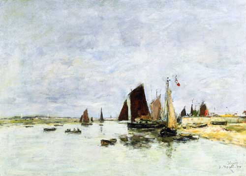 40623 Eugene Boudin Paintings oil paintings for sale