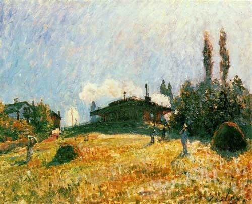 40688 Alfred Sisley Paintings oil paintings for sale