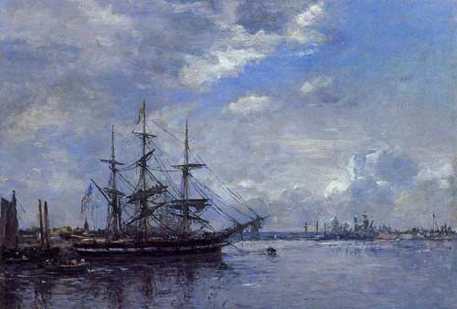 40719 Eugene Boudin Paintings oil paintings for sale