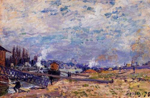 41146 Alfred Sisley Paintings oil paintings for sale
