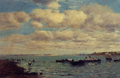 42283 Eugene Boudin Paintings oil paintings for sale