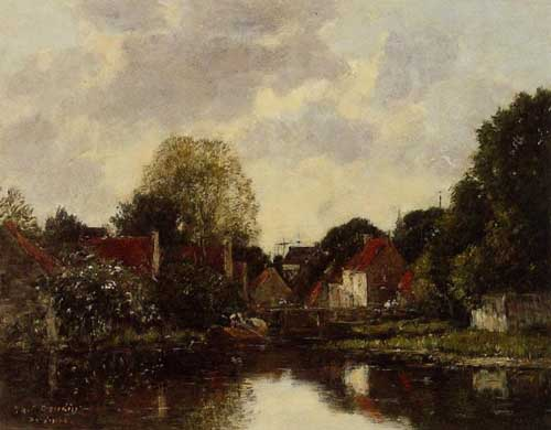 42285 Eugene Boudin Paintings oil paintings for sale