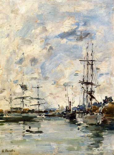 42290 Eugene Boudin Paintings oil paintings for sale