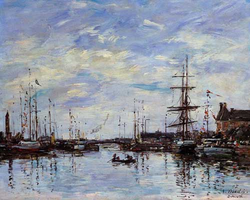 42291 Eugene Boudin Paintings oil paintings for sale