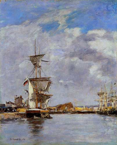 42292 Eugene Boudin Paintings oil paintings for sale