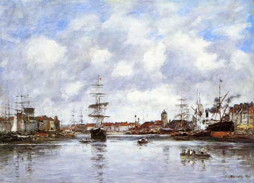 42293 Eugene Boudin Paintings oil paintings for sale