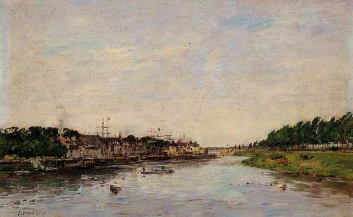 42294 Eugene Boudin Paintings oil paintings for sale