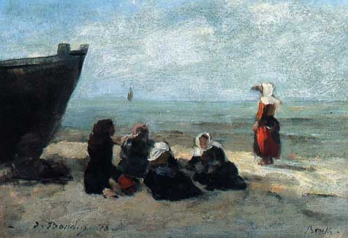 42298 Eugene Boudin Paintings oil paintings for sale