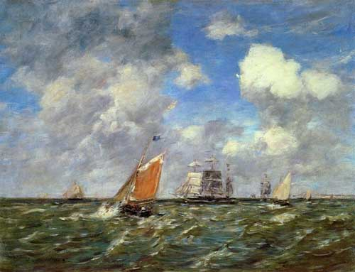 42299 Eugene Boudin Paintings oil paintings for sale