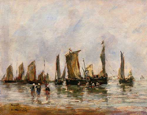 42300 Eugene Boudin Paintings oil paintings for sale