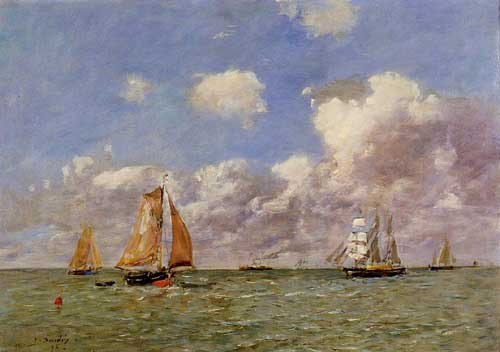 42301 Eugene Boudin Paintings oil paintings for sale