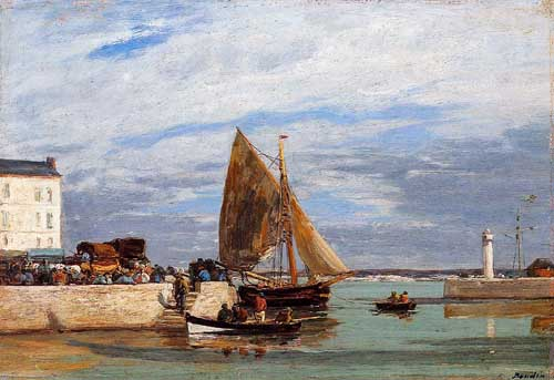 42305 Eugene Boudin Paintings oil paintings for sale