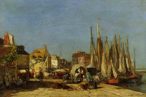 42306 Eugene Boudin Paintings oil paintings for sale