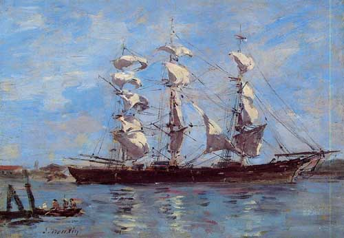 42307 Eugene Boudin Paintings oil paintings for sale