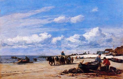 42308 Eugene Boudin Paintings oil paintings for sale