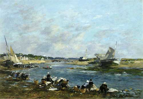 42312 Eugene Boudin Paintings oil paintings for sale