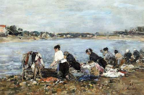 42313 Eugene Boudin Paintings oil paintings for sale