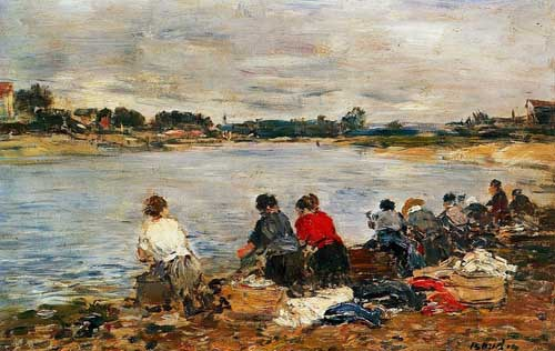 42314 Eugene Boudin Paintings oil paintings for sale