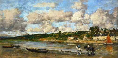 42316 Eugene Boudin Paintings oil paintings for sale