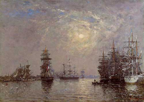 42317 Eugene Boudin Paintings oil paintings for sale
