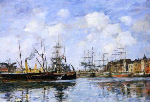 42318 Eugene Boudin Paintings oil paintings for sale