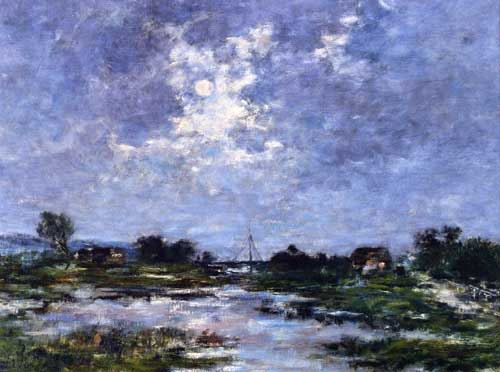 42321 Eugene Boudin Paintings oil paintings for sale