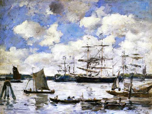 42323 Eugene Boudin Paintings oil paintings for sale