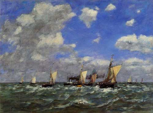 42325 Eugene Boudin Paintings oil paintings for sale