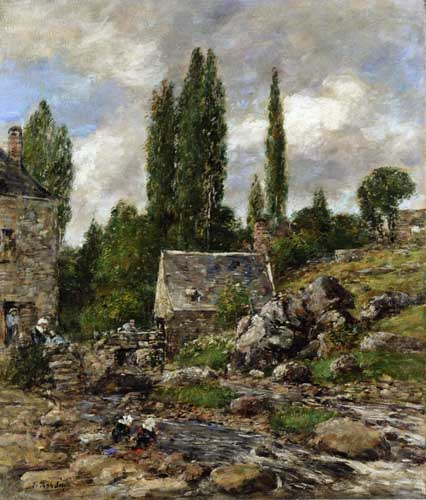 42326 Eugene Boudin Paintings oil paintings for sale