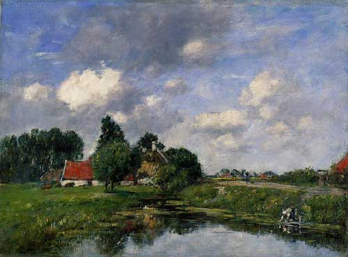 42328 Eugene Boudin Paintings oil paintings for sale