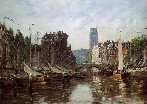 42329 Eugene Boudin Paintings oil paintings for sale