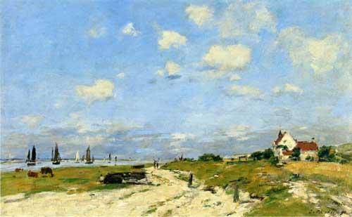 42334 Eugene Boudin Paintings oil paintings for sale