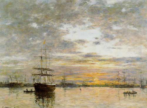 42337 Eugene Boudin Paintings oil paintings for sale
