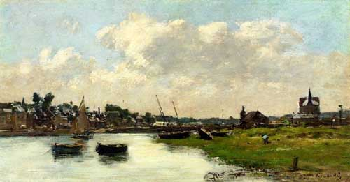 42338 Eugene Boudin Paintings oil paintings for sale